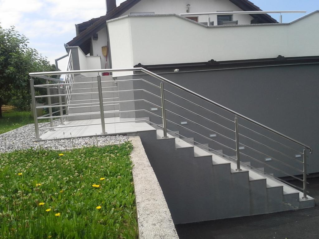 Inox ograje, dvoriščna vrata - Srečko Bregač s.p., Dolenjska gallery photo no.3