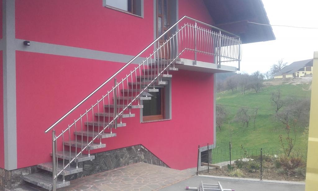 Inox ograje, dvoriščna vrata - Srečko Bregač s.p., Dolenjska gallery photo no.9