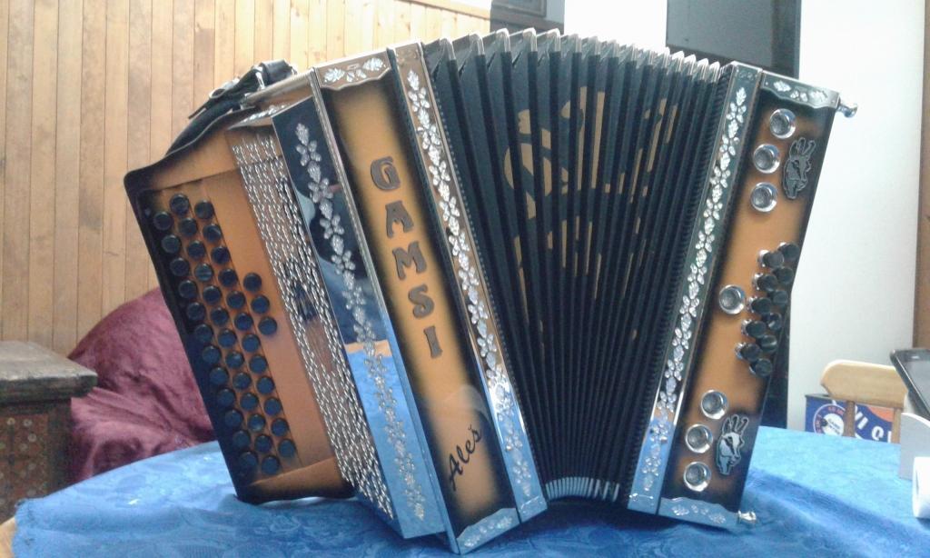 Izdelava diatonične harmonike - Harmonike Gamsi gallery photo no.3