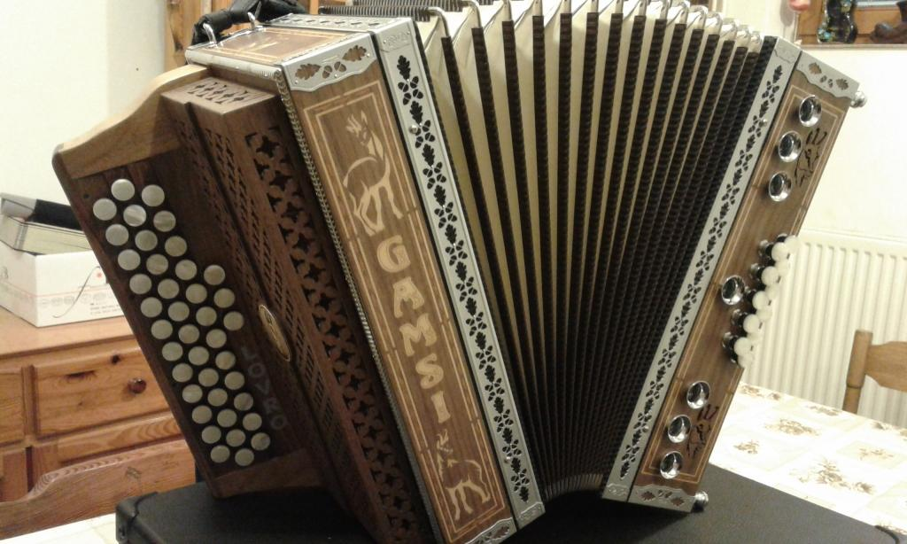 Izdelava diatonične harmonike - Harmonike Gamsi gallery photo no.6
