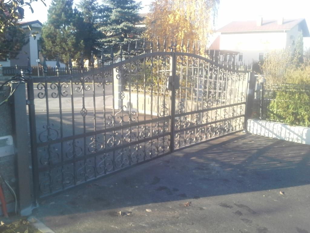Izdelava, montaža unikatnih kovanih ograj, unikatne kovane ograje gallery photo no.9
