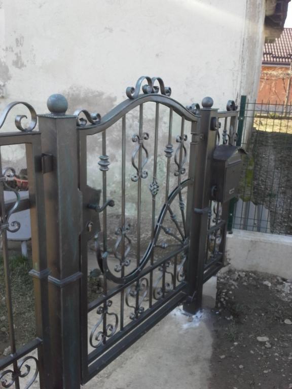 Izdelava, montaža unikatnih kovanih ograj, unikatne kovane ograje gallery photo no.11