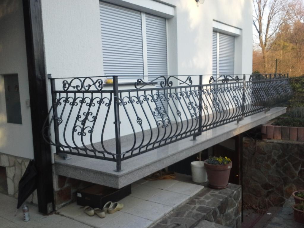 Izdelava, montaža unikatnih kovanih ograj, unikatne kovane ograje gallery photo no.37