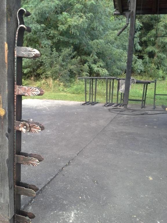 Izdelava, montaža unikatnih kovanih ograj, unikatne kovane ograje gallery photo no.70
