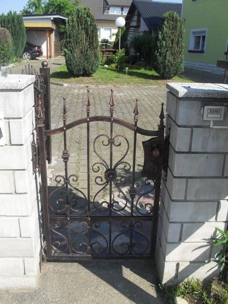 Izdelava, montaža unikatnih kovanih ograj, unikatne kovane ograje gallery photo no.93