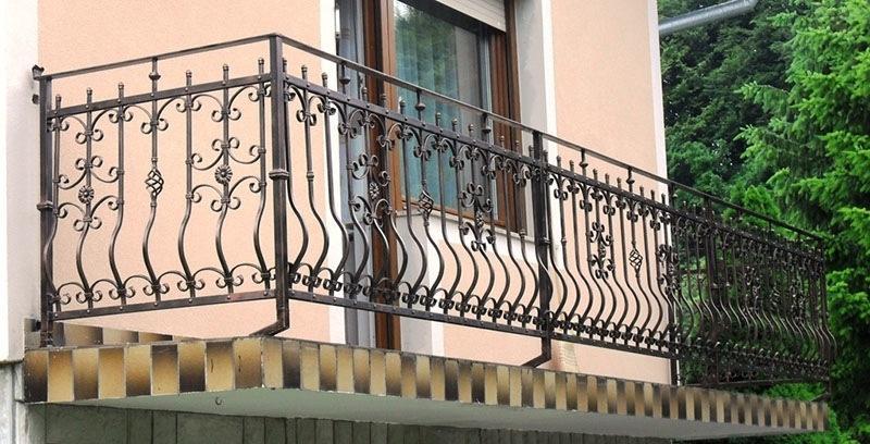 Izdelava, montaža unikatnih kovanih ograj, unikatne kovane ograje gallery photo no.112