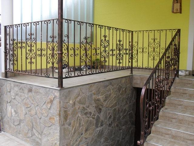 Izdelava, montaža unikatnih kovanih ograj, unikatne kovane ograje gallery photo no.115