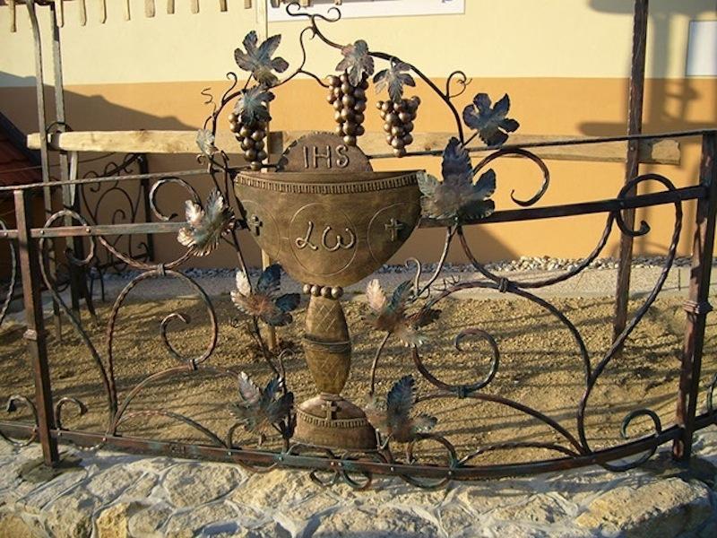 Izdelava, montaža unikatnih kovanih ograj, unikatne kovane ograje gallery photo no.157