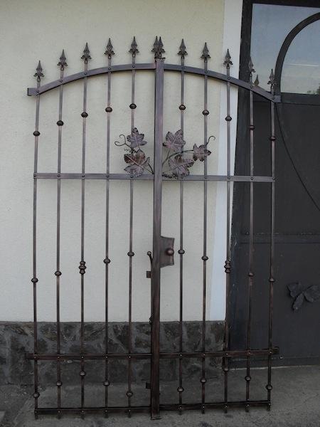 Izdelava, montaža unikatnih kovanih ograj, unikatne kovane ograje gallery photo no.179