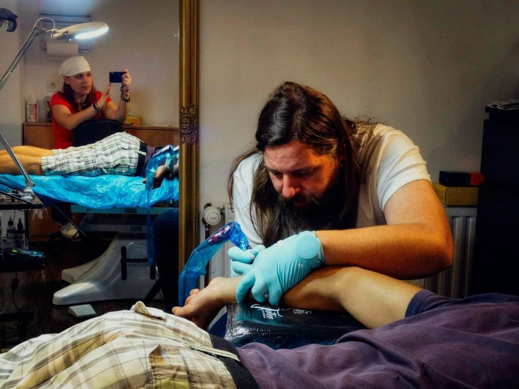 Izdelava tattooja, dober tetovator - ART TATTOO gallery photo no.12