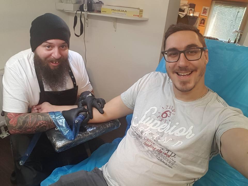 Izdelava tattooja, dober tetovator - ART TATTOO gallery photo no.60