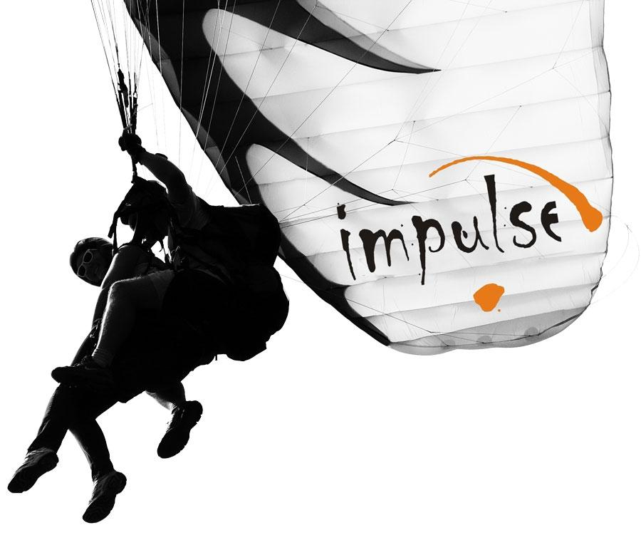 Jadralno padalstvo Logarska dolina, Golte, polet v tandemu z jadralnim padalom, paraglidin tandem IMPULSE gallery photo no.1
