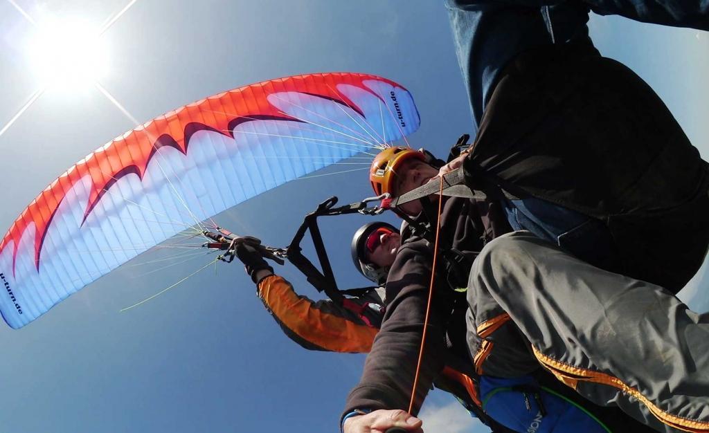 Jadralno padalstvo Logarska dolina, Golte, polet v tandemu z jadralnim padalom, paraglidin tandem IMPULSE gallery photo no.2