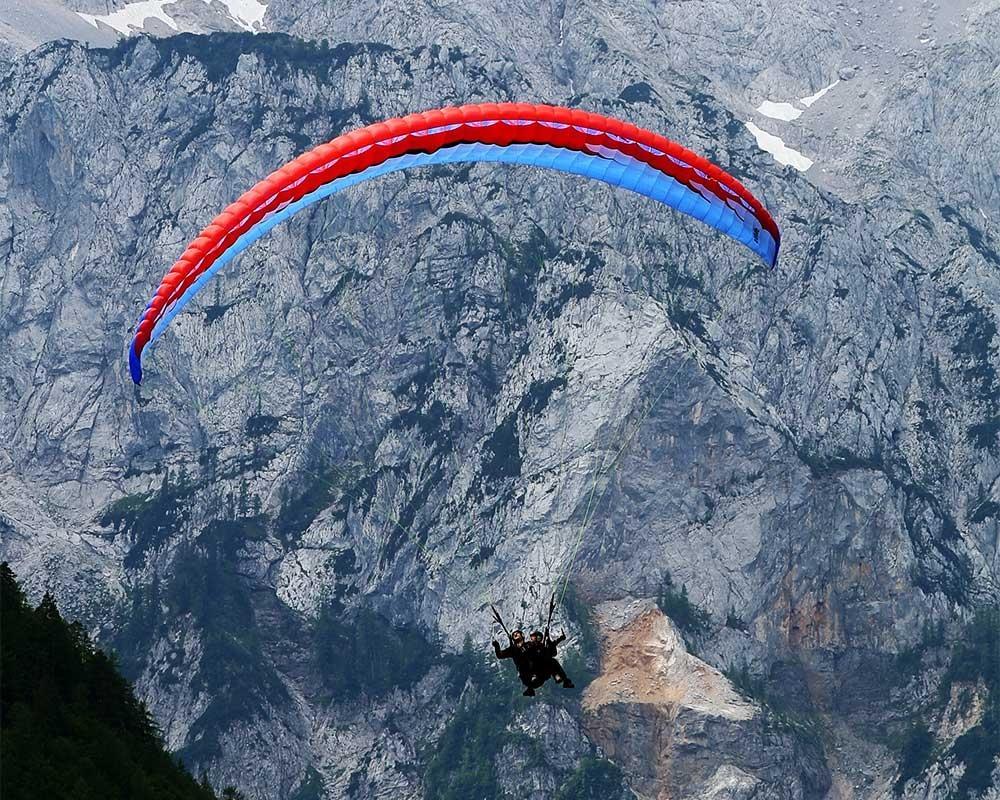 Jadralno padalstvo Logarska dolina, Golte, polet v tandemu z jadralnim padalom, paraglidin tandem IMPULSE gallery photo no.7