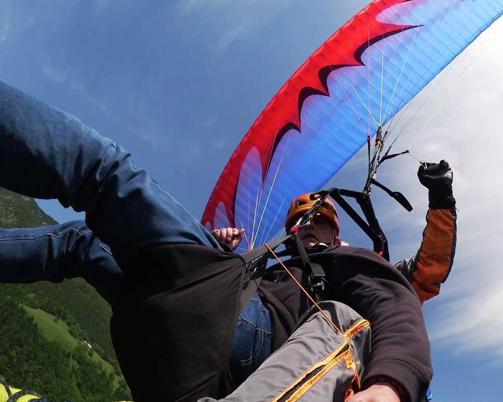 Jadralno padalstvo Logarska dolina, Golte, polet v tandemu z jadralnim padalom, paraglidin tandem IMPULSE gallery photo no.9