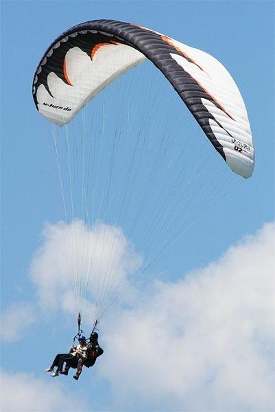 Jadralno padalstvo Logarska dolina, Golte, polet v tandemu z jadralnim padalom, paraglidin tandem IMPULSE gallery photo no.12
