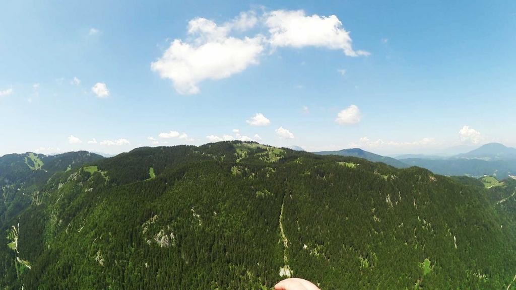 Jadralno padalstvo Logarska dolina, Golte, polet v tandemu z jadralnim padalom, paraglidin tandem IMPULSE gallery photo no.13