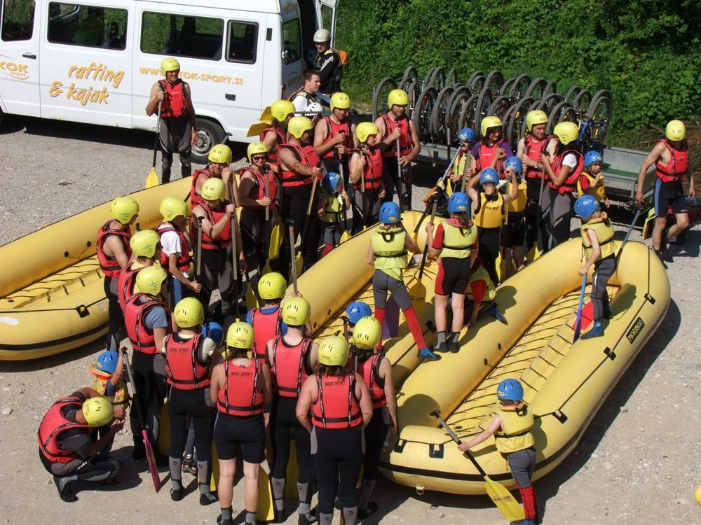 Kajak, rafting, piknik prostor SKOK ŠPORT, Ljubljana gallery photo no.9