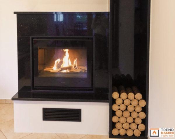 Kamini, toplozračni kamini, peč na drva - Trend kamini gallery photo no.1