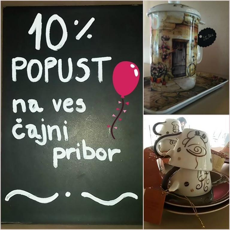 Kavarna, čajnica, slaščičarna, torte, Nova Gorica, Primorska gallery photo no.3