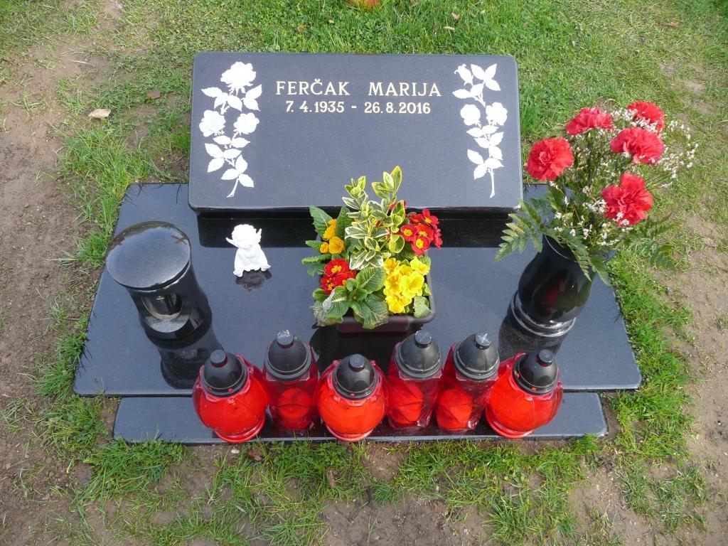 Klesanje črk v nagrobne spomenike, nagrobni spomeniki Gorenjska - klesanje.si gallery photo no.19