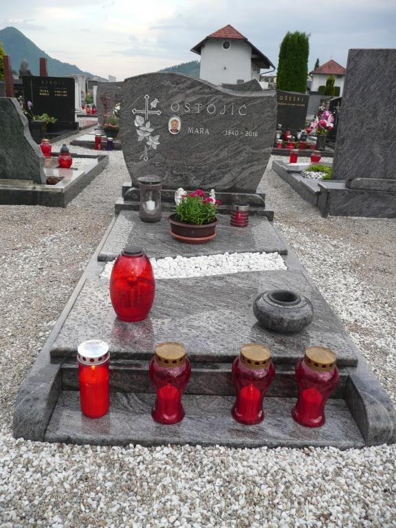 Klesanje črk v nagrobne spomenike, nagrobni spomeniki Gorenjska - klesanje.si gallery photo no.30