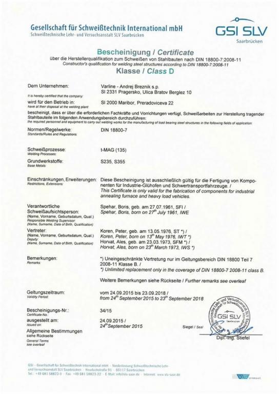 Ključavničarska dela Maribor, laserski razrez kovin, ovijanje pločevine, upogibanje pločevine gallery photo no.15