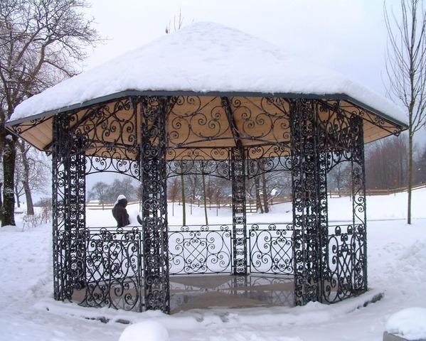 Kovane ograje, kovani nadstreški, kovani izdelki Bruno Kalčič s.p. gallery photo no.1