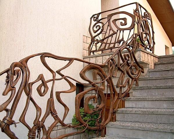 Kovane ograje, kovani nadstreški, kovani izdelki Bruno Kalčič s.p. gallery photo no.3