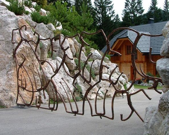 Kovane ograje, kovani nadstreški, kovani izdelki Bruno Kalčič s.p. gallery photo no.38