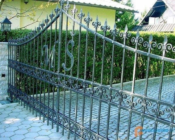 Kovane ograje, kovani nadstreški, kovani izdelki Bruno Kalčič s.p. gallery photo no.44