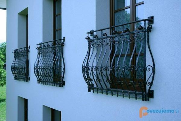 Kovane ograje, kovani nadstreški, kovani izdelki Bruno Kalčič s.p. gallery photo no.46