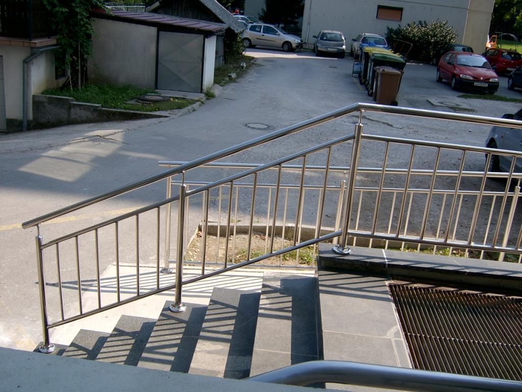 Kovinske ograje, inox ograje Kamnik, Gorenjska gallery photo no.1