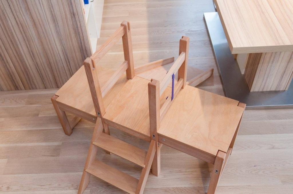Kuhinjski pomagalček, lesena otroška igrala - Mizarstvo Dečman gallery photo no.2