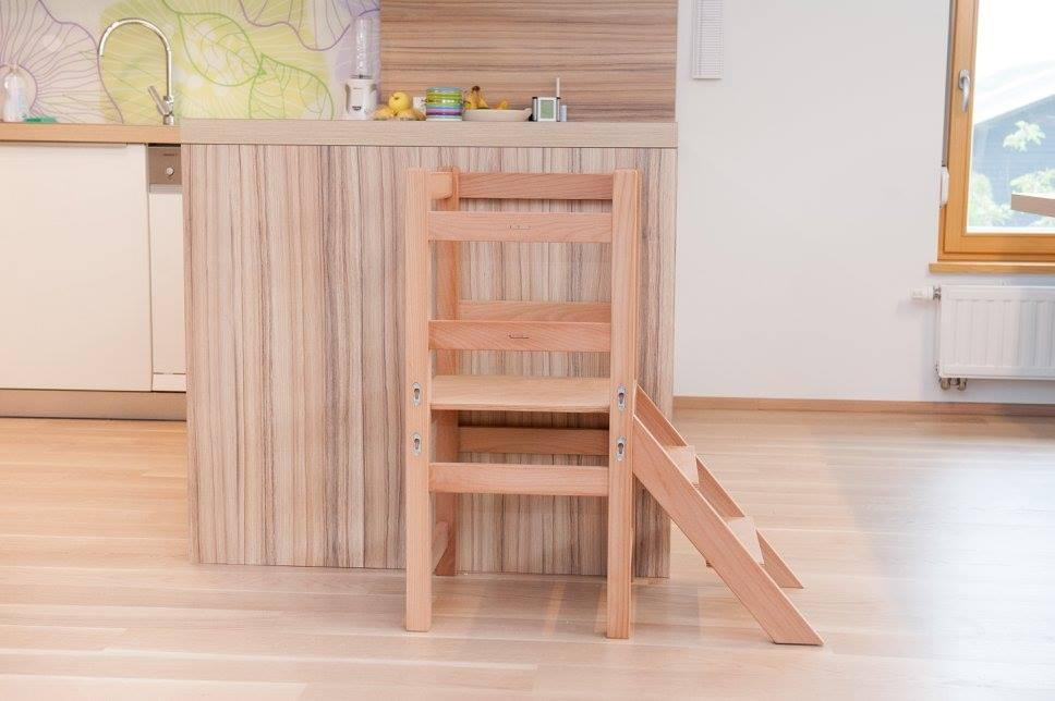 Kuhinjski pomagalček, lesena otroška igrala - Mizarstvo Dečman gallery photo no.3