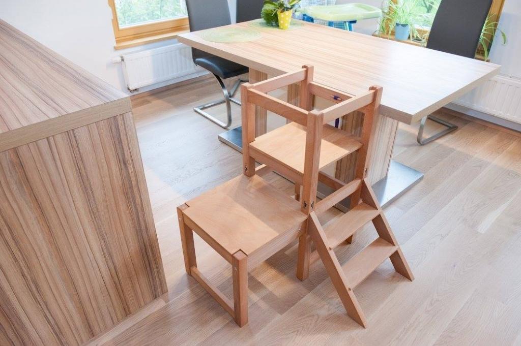 Kuhinjski pomagalček, lesena otroška igrala - Mizarstvo Dečman gallery photo no.7