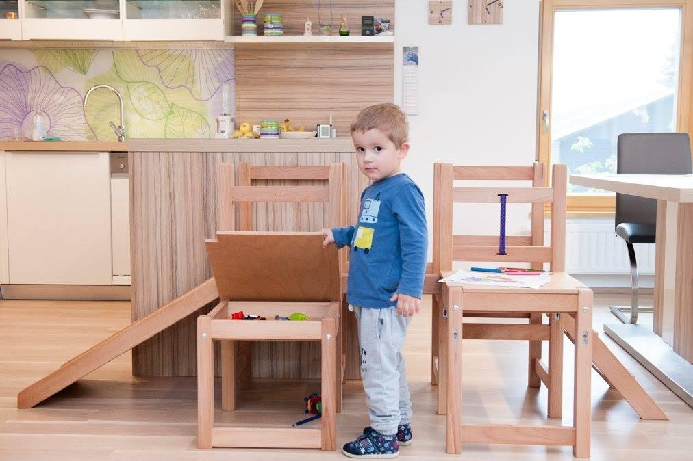 Kuhinjski pomagalček, lesena otroška igrala - Mizarstvo Dečman gallery photo no.12