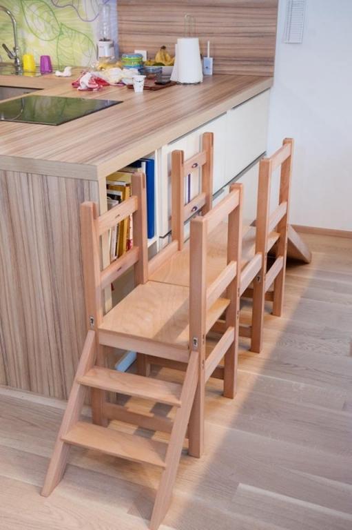 Kuhinjski pomagalček, lesena otroška igrala - Mizarstvo Dečman gallery photo no.18