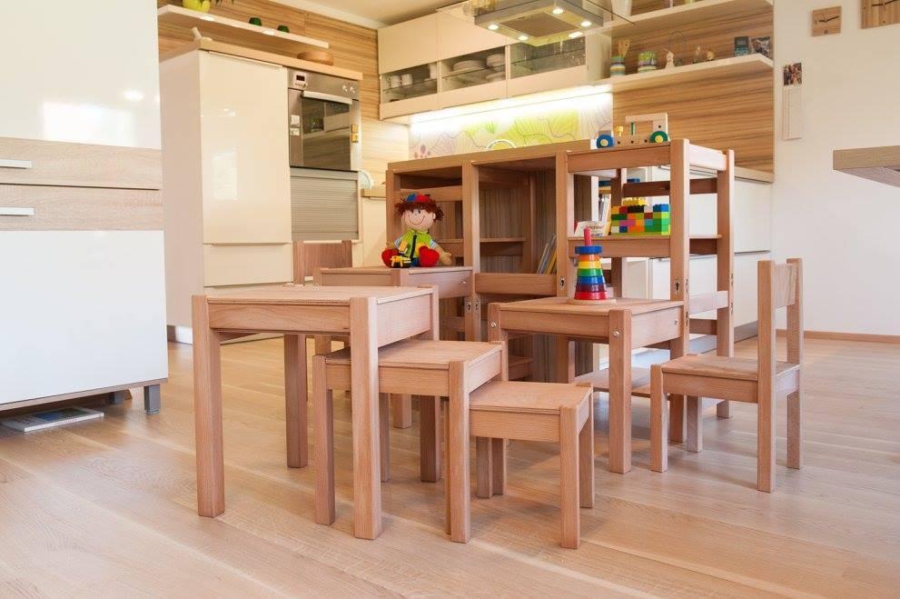 Kuhinjski pomagalček, lesena otroška igrala - Mizarstvo Dečman gallery photo no.28