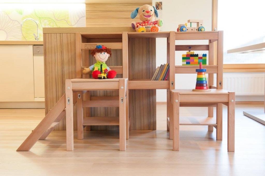 Kuhinjski pomagalček, lesena otroška igrala - Mizarstvo Dečman gallery photo no.29