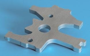 Laserski razrez pločevine, preoblikovanje pločevine, upogibanje materiala gallery photo no.3