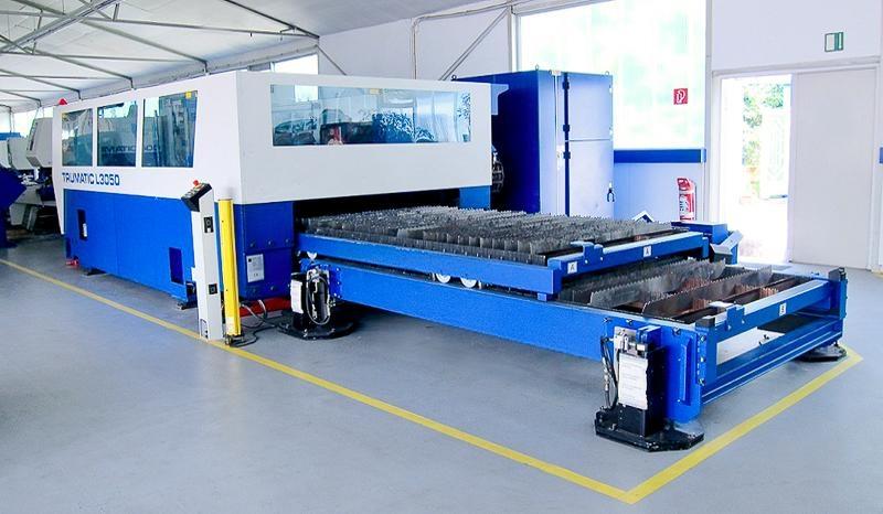 Laserski razrez pločevine, preoblikovanje pločevine, upogibanje materiala gallery photo no.10
