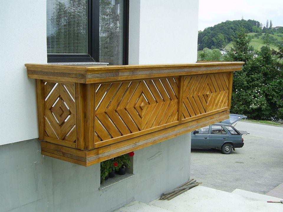 Lesene balkonske ograje, leseni nadstreški, otroška igrala, vrtne ute Hajd Karel s.p., Štajerska  gallery photo no.0