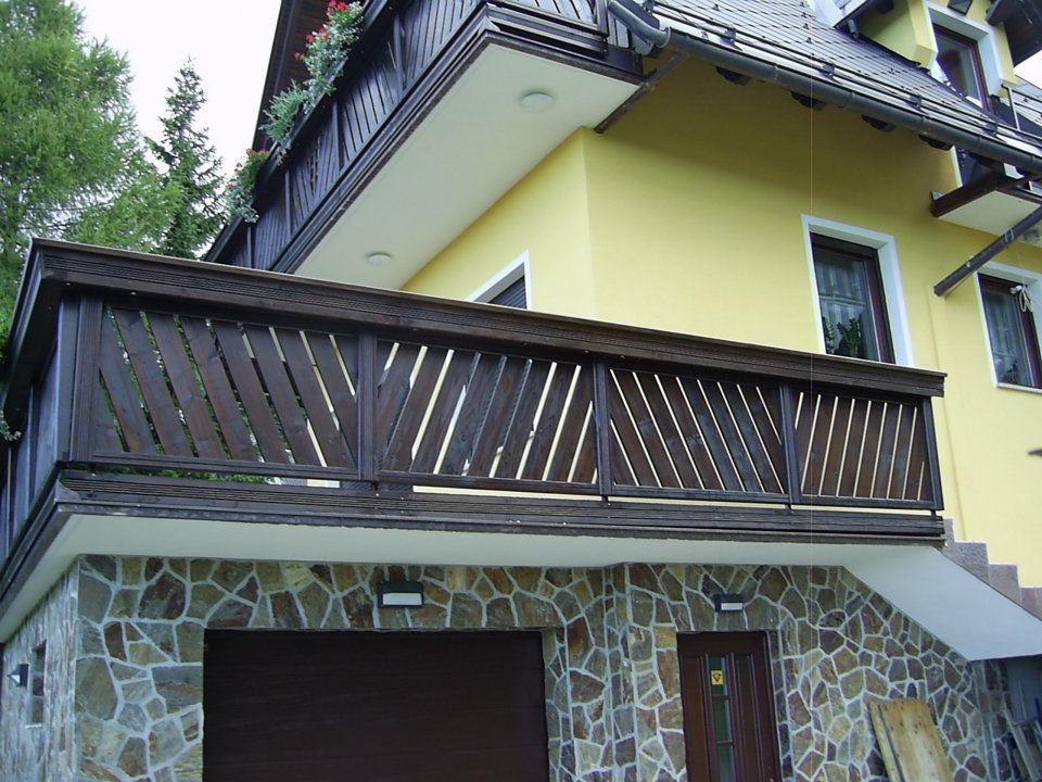 Lesene balkonske ograje, leseni nadstreški, otroška igrala, vrtne ute Hajd Karel s.p., Štajerska  gallery photo no.14