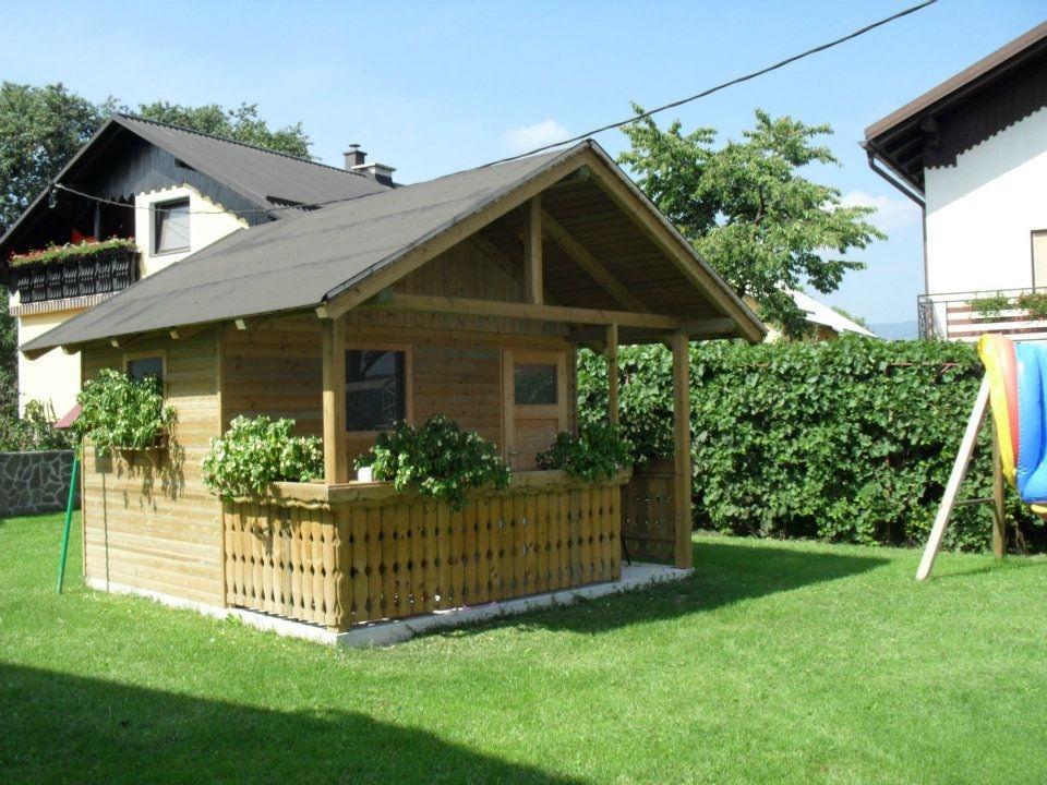 Lesene balkonske ograje, leseni nadstreški, otroška igrala, vrtne ute Hajd Karel s.p., Štajerska  gallery photo no.17