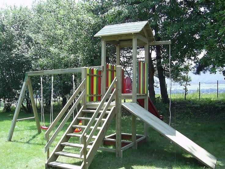 Lesene balkonske ograje, leseni nadstreški, otroška igrala, vrtne ute Hajd Karel s.p., Štajerska  gallery photo no.31