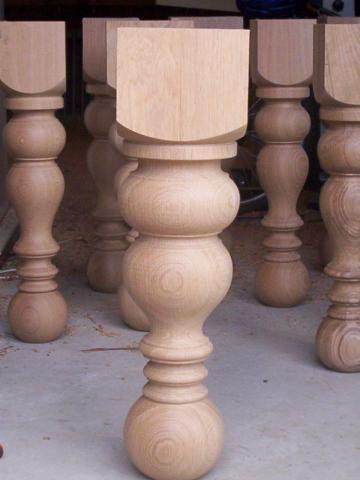 Lesene noge za pohištvo, lesna galanterija gallery photo no.0