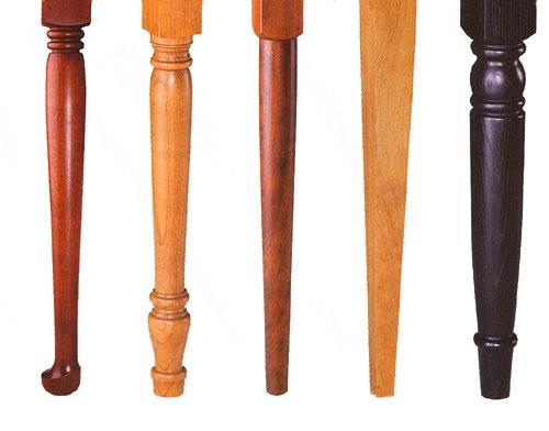 Lesene noge za pohištvo, lesna galanterija gallery photo no.2