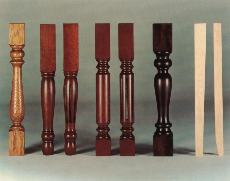Lesene noge za pohištvo, lesna galanterija gallery photo no.5
