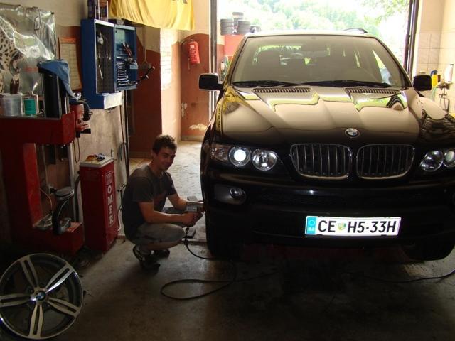 Kemično čiščenje na terenu, Montaža gum in avtopralnica KMET, Rogaška Slatina gallery photo no.8